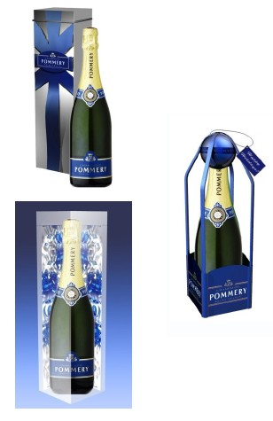 Pommery Champagne - 2007 Holiday Packaging