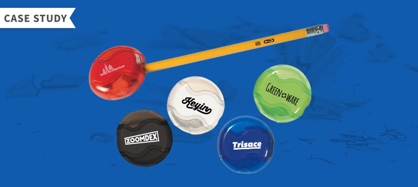 Case Study: Promotional Pencil Sharpener for a Construction Company