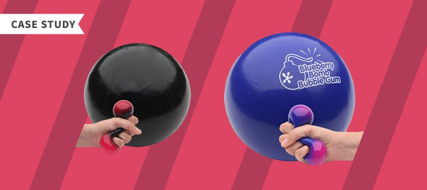 Case Study: Promotional Gel Stress Toy for a Health Food Store